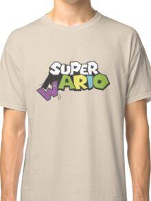 Wario Vs Super Mario Classic T-Shirt