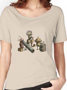 Machinarium's Jazz Band Women's Relaxed Fit T-Shirt