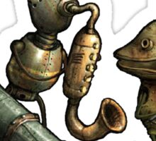 Machinarium's Jazz Band Sticker