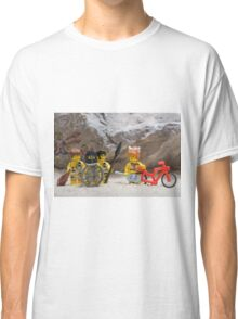 Inventing the wheel - Lego style Classic T-Shirt