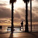 barceloneta sunrise by allamazares