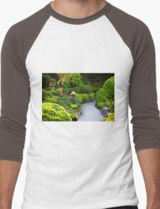 Mystery - Butchart Garden - BC Men's Baseball ¾ T-Shirt