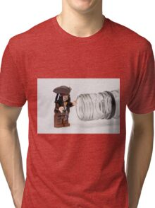 Why is the rum always gone?  Tri-blend T-Shirt