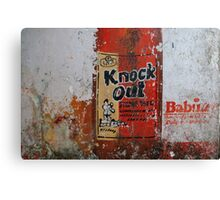 Knock Out - Strong Beer Canvas Print