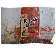 Knock Out - Strong Beer Poster