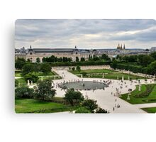 Les Tuileries, Paris Canvas Print