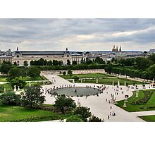 Les Tuileries, Paris Photographic Print