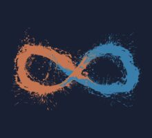 t-shirt infinite portal painting by KokoBlacksquare