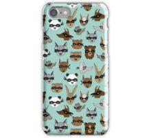 Bandit Animals by Andrea Lauren  iPhone Case/Skin