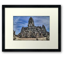 Angkor Wat Central.. Framed Print