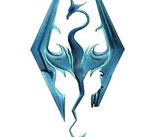 Skyrim logo by Park Jennifer