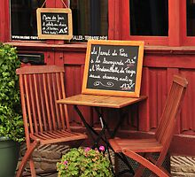 Parisian Cafe by MaluC