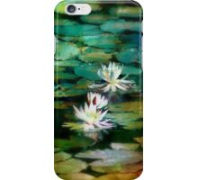 Rainbow Lily Pond iPhone Case/Skin
