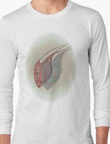 Mask Part One Detail Long Sleeve T-Shirt