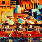 Golden Ganges by Sandra Hansen