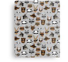Bandit Animals by Andrea Lauren  Metal Print