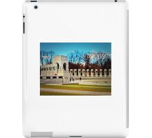 World War II Memorial - Washington D.C. iPad Case/Skin