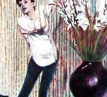 Judy Garland @ www.KeithMcDowellArtist.com by © Keith McDowell, Artist