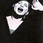 Barbara Streisand @ www.KeithMcDowellArtist.com by © Keith McDowell, Artist