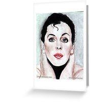 Judy Garland @ www.KeithMcDowellArtist.com Greeting Card