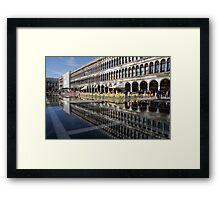Venice, Italy - St Mark's Square Symmetry Framed Print