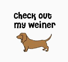 Check Out My Wiener Funny Dog Tee Unisex T-Shirt
