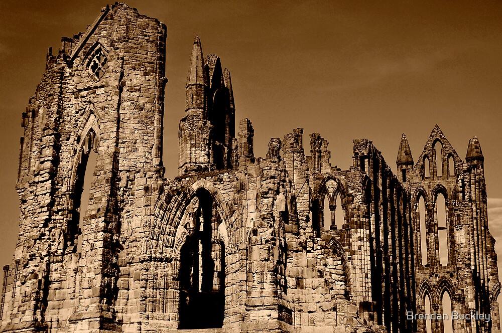 Whitby Abbey by Brendan Buckley