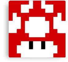 1UP Red - Super Mario Bros  Canvas Print