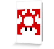 1UP Red - Super Mario Bros  Greeting Card