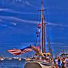 Sail Boston - American Eagle   by LudaNayvelt