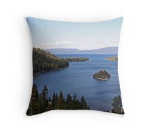 """Emerald Bay"" Throw Pillow"
