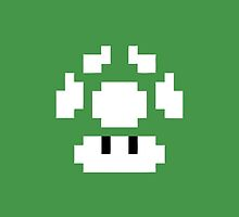 1UP Green - Super Mario Bros by Gustavinlavin