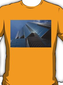 Silver Lines to the Sky - Downtown Toronto Skyscraper T-Shirt