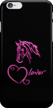 """""""Horselover""""- pink edit by scatharis"""