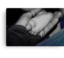Baby Feet Canvas Print