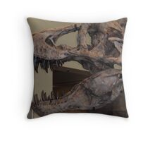 What big teeth you have! Throw Pillow