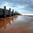 Blyth Beach in Northumberland by Michael Brewis