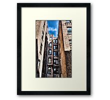 NYC Apartment View Framed Print