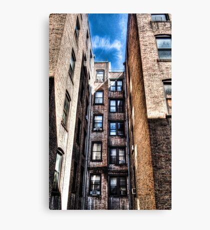 NYC Apartment View Canvas Print