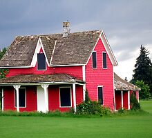 Little Red House by MaluC