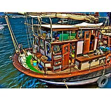 Fisherman  Boat Photographic Print