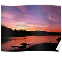 Sunset Over Bear Cove Poster