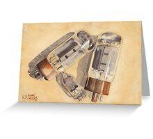 Tubes Greeting Card