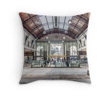 Stazione Genova Principe Throw Pillow