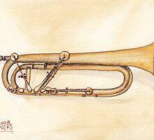 Keyed Trumpet by Ken Powers
