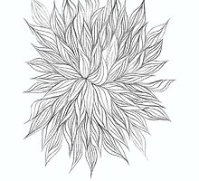 Lovely Lined Leaves by KazM