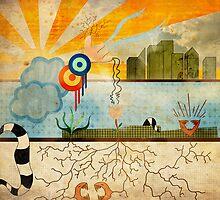 Chaotic Sunrise by Giovanni Sanchez