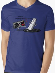 This is the eighties! Nes Mens V-Neck T-Shirt