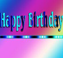 Happy Birthday Rainbow by Donna Grayson