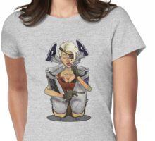 Cyborg yoga Womens Fitted T-Shirt